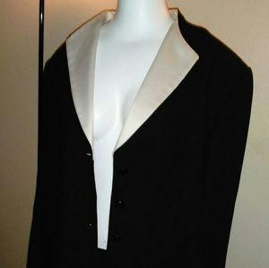 Jackets & Blazers - Black Tuxedo Suit